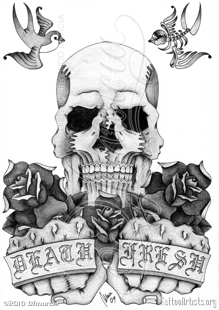 Chicano Tattoo Art Skulls