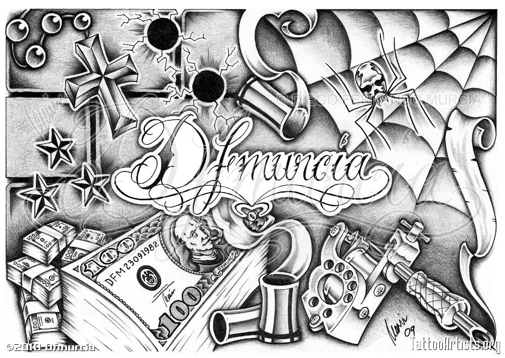 Chicano Art Tattoos